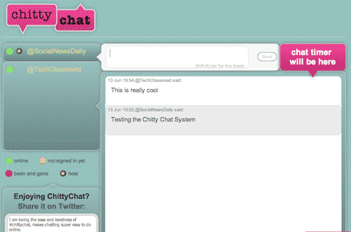 Chitty Chat Personal Chat Room