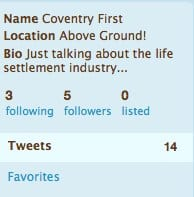 Coventry First twitter