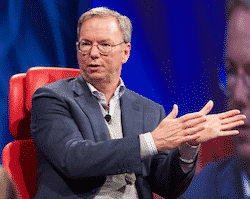 Featured image for Google Chairman Eric Schmidt: I Screwed Up Against Facebook