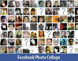 Facebook Photo Collage - Friends List