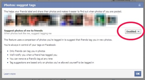 Featured image for Facebook Changes Privacy Policy, Turns On Facial Recognition For Millions Of Visitors