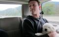Mark Zuckerberg and his Puppy