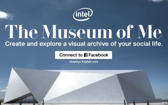 Featured image for [Experience] Intel's 'Museum of Me' Makes Your Facebook Account an Exhibit
