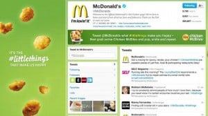 McDonalds Twitter Failure
