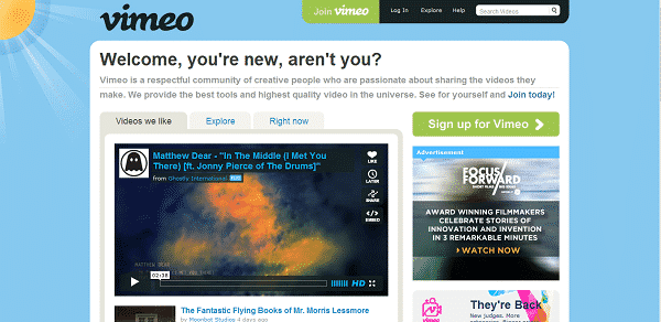 Featured image for Vimeo Debuts New Design And It's Pretty Awesome [Video]
