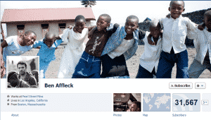 Ben Affleck Facebook Profile