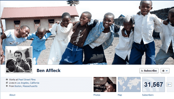 Featured image for Ben Affleck Joins Facebook To Spread Awareness About Worldwide Atrocities