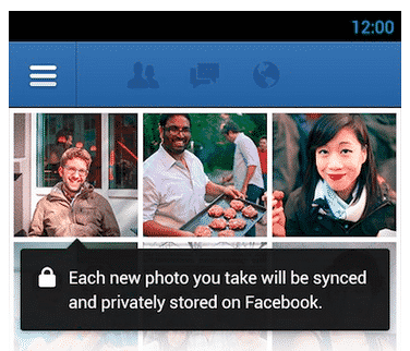 Facebook Photo Syncing