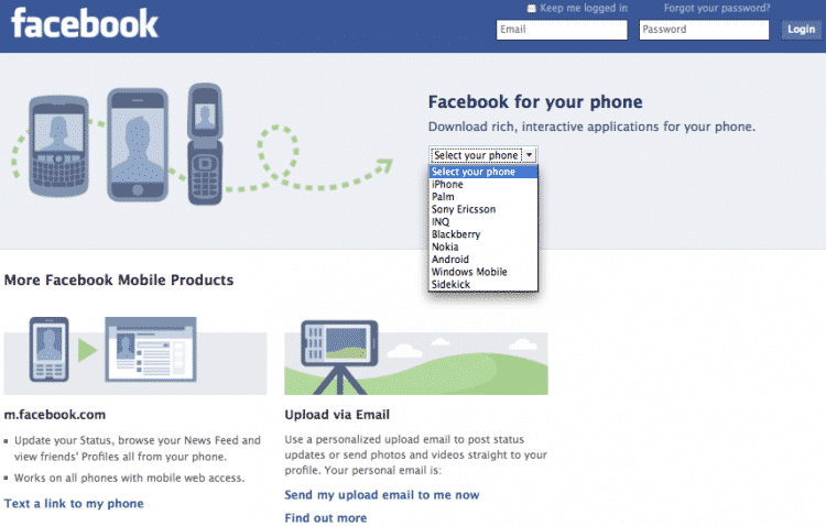 Featured image for Next Facebook Service Will Debut On Mobile [Rumor]