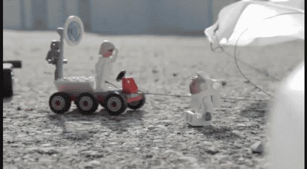 Lego Felix's space jump