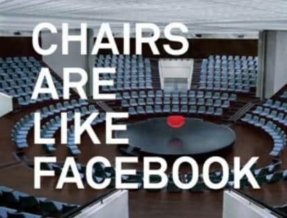 Featured image for Facebook, It's Like A Chair [Video]