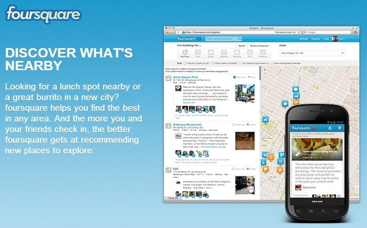 Featured image for Foursquare Looks To Monetize With Targeted Deals