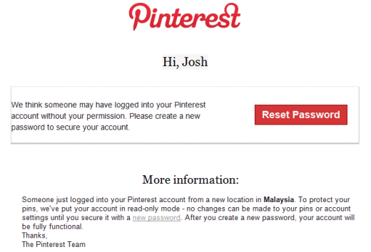 Featured image for Pinterest Users Still Getting Hacked, Spam Floods Facebook And Twitter