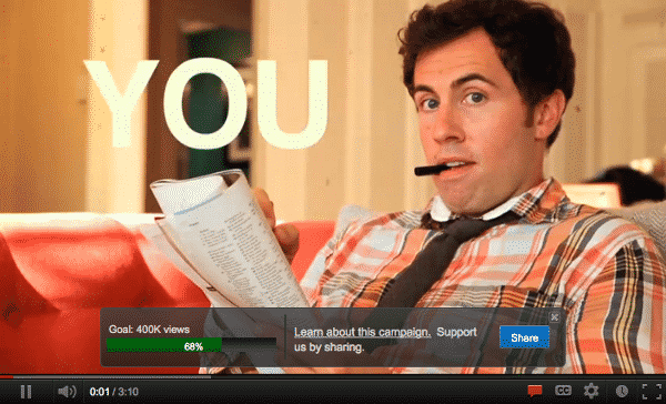 "youtube campaigns YouTube Helps Nonprofits With ""Digital Thermometer"""