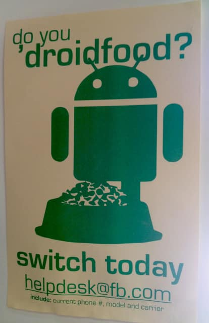 Facebook Wants Employees On Android Facebook Lobbying Employees To Switch From iOS To Android Smartphones
