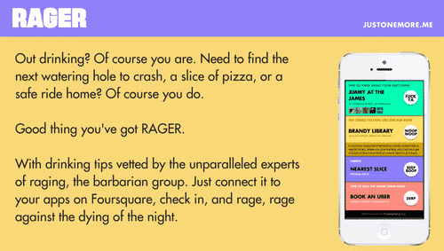Featured image for Foursquare Connected Rager App Helps Plan Your Night Out