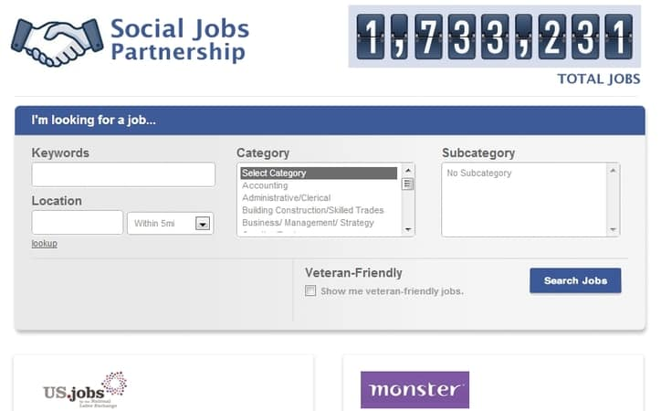 Featured image for Facebook Takes On LinkedIn With Social Jobs App