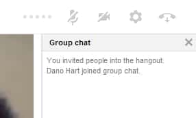 Google Plus Hangouts Group Chat