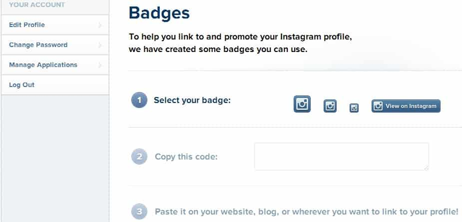 How To Embed New Instagram Badges On Your Website