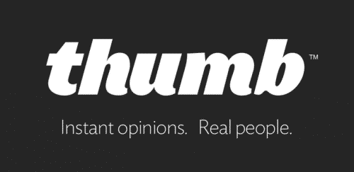Featured image for Instant Opinion Social App 'Thumb' Tests Shopping Category