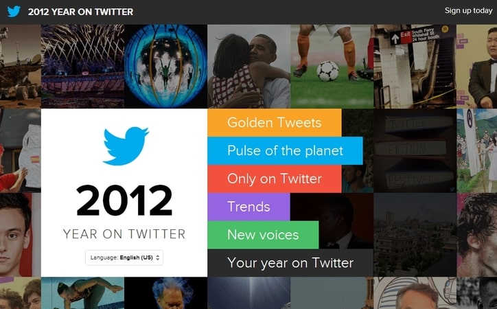 Featured image for Twitter 2012 In Review: New Site Shares The Biggest Tweets, Events And More