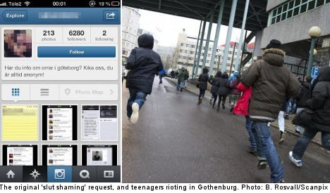 Featured image for Instagram 'Slut' Posts Cause Protest In Sweden