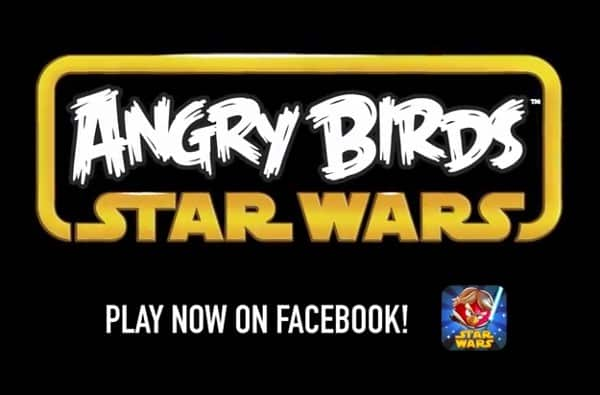 Featured image for Angry Birds Star Wars Arrives On Facebook