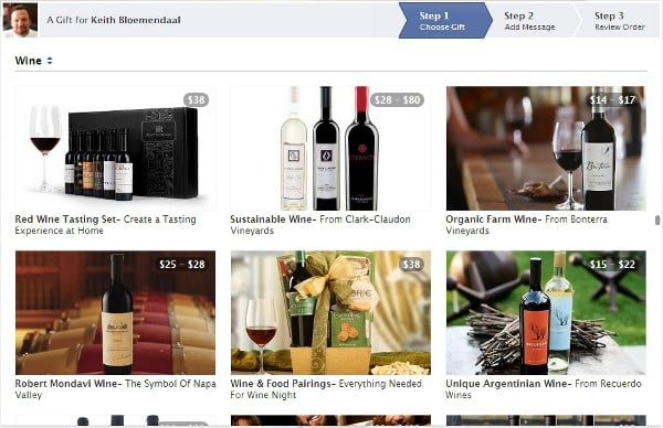 Featured image for Facebook Gifts Shipping Wine, Now Available In All Parts Of US