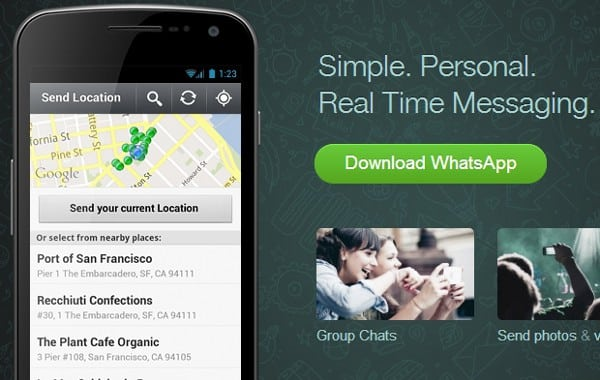 Featured image for Facebook Acquiring WhatsApp, Popular Mobile Messaging Client [Rumor]