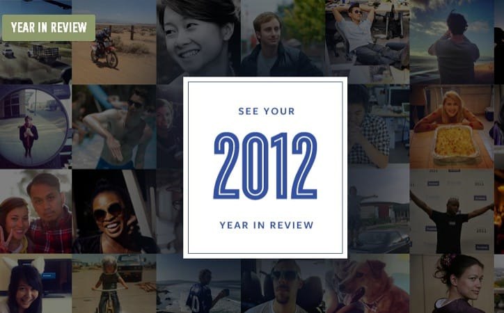 Featured image for Facebook Stories Launches 2012 Year In Review, See Your Biggest Moments