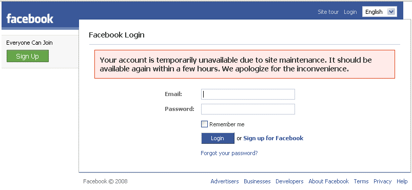Featured image for Yes, Facebook Is Down, It's Not Just You [And Twitter Reacts]