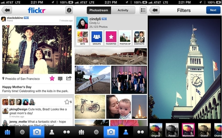Featured image for Flickr iPhone App Adds Photo Filters, Sign In With Facebook Or Google