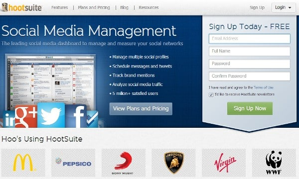 Featured image for Hootsuite Adds Pinterest Tracking, Vimeo And WordPress App