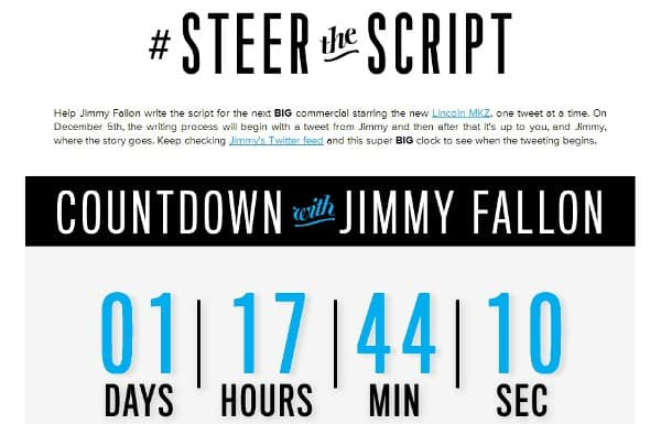 Featured image for Jimmy Fallon Turning Tweets Into Super Bowl Ad With #SteerTheScript