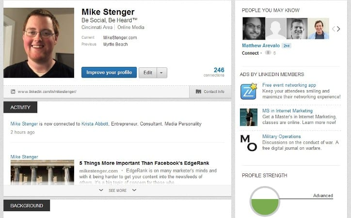 Featured image for New LinkedIn Profile: How To Navigate And What's Changed