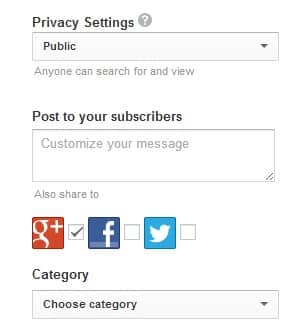 share to google plus Google+ Rolling Out Deeper YouTube Integration