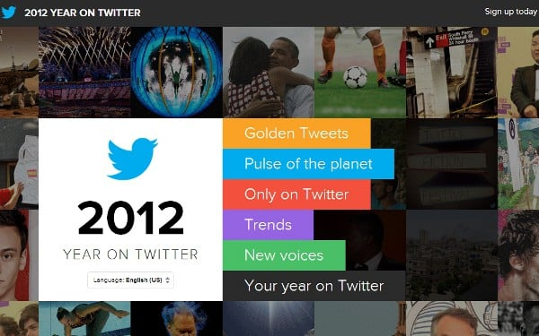 twitter 2012 Twitter 2012 In Review: New Site Shares The Biggest Tweets, Events And More