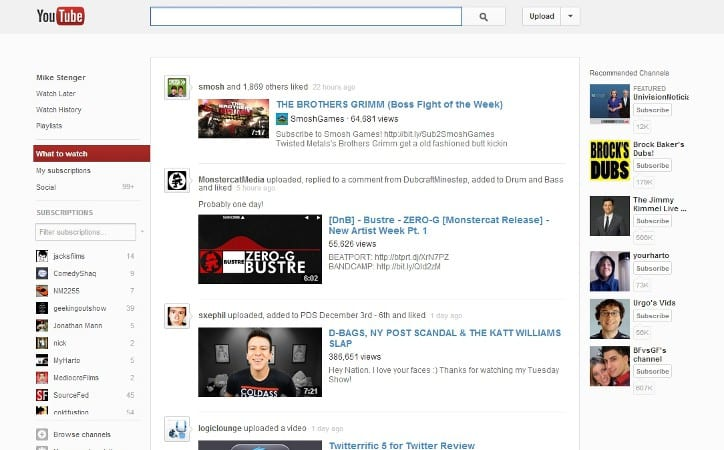 Featured image for YouTube Rolls Out Completely New Design