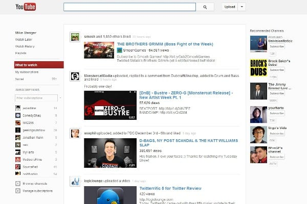 youtube redesign YouTube Rolls Out Completely New Design