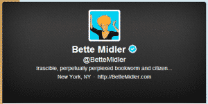 Bette Midler and Inauguration