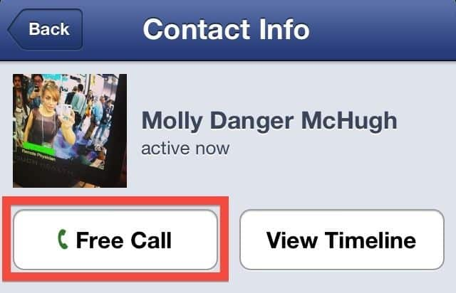 Featured image for Facebook Launches Free Calling App For iPhones