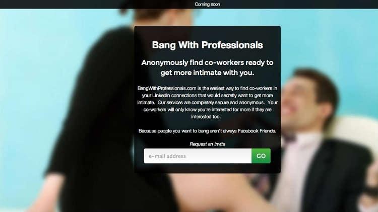 Linkedin hookup app