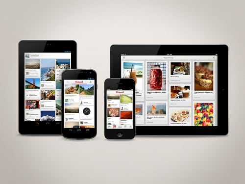 Pinterest iOS App Update