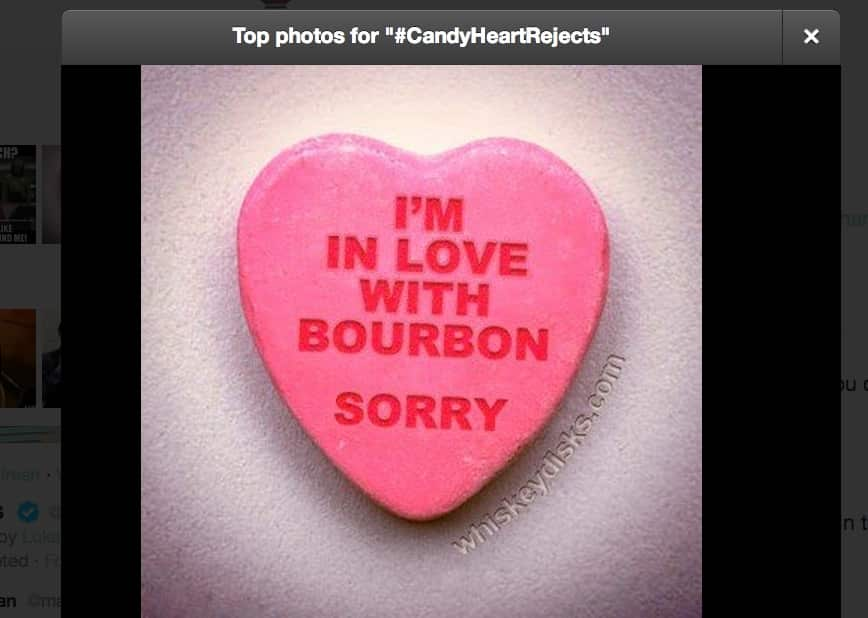 Featured image for #CandyHeartRejects Tweeted, Valentine's Day Hits Social Media [Twitter Reacts]