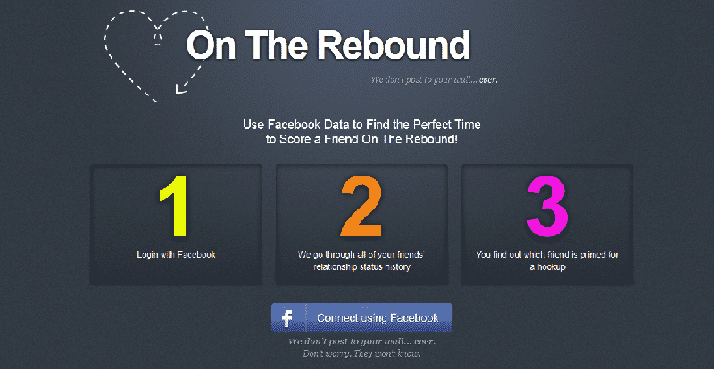 Featured image for 'On The Rebound' Brings Facebook Stalking To A Whole New Level