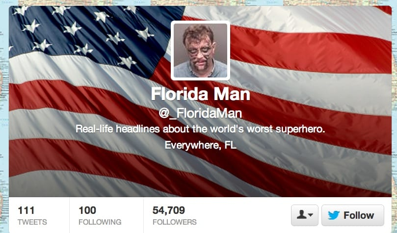Featured image for Florida Man Is Twitter's 'Worst Superhero'