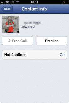 Facebook VoIP Messenger UK