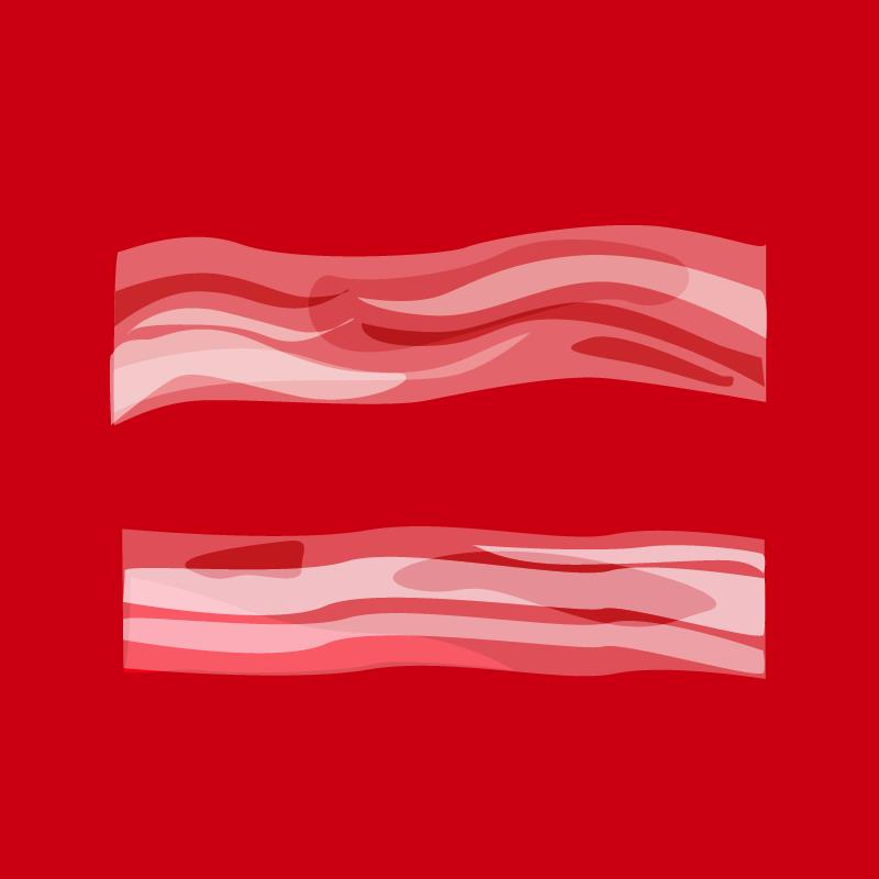 Facebook marriage equality bacon