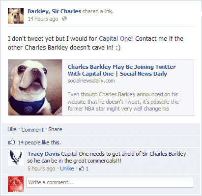 Charles Barkley May Be Joining Twitter