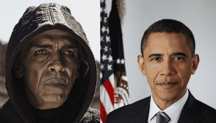 obama devil Obama Has A Devil Doppelganger? The Bible Criticized For Presidential Satan